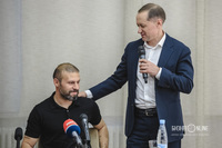 Гекдениз Карадениз и Рустем Сайманов