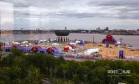 Единственная в Казани ещё незавершенная большая стройка чемпионата мира