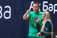 Богдан Богачёв и Ольга Ахсанова