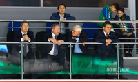 Радий Хабиров, мэр Уфы Ульфат Мустафин, экс-мэр Уфы Павел Качкаев, экс-мэр Уфы Ирек Ялалов