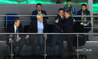 Радий Хабиров, экс-мэр Уфы Павел Качкаев, экс-мэр Уфы Ирек Ялалов, мэр Уфы Ульфат Мустафин,