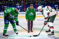 Линус Умарк, Тимербулат Каримов и Данис Зарипов
