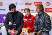 Сергей Розанов, Алёна Косторная и Евгений Плющенко