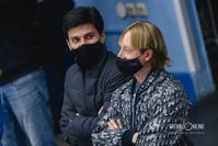 Сергей Розанов и Евгений Плющенко