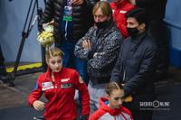 Евгений Плющенко, Сергей Розанов и Алёна Косторная