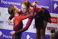 Майя Хромых и Александра Трусова