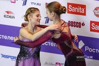 Алёна Косторная и Александра Трусова