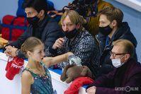 Александра Трусова, Евгений Плющенко и другие тренеры академии Плющенко