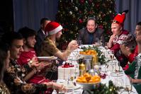 «Рубина» на съёмках новогоднего видео